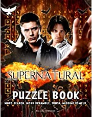 Supernatural Puzzle Book: An Amazing Way For Supernatural And Puzzle Lovers To Relax And Have Fun