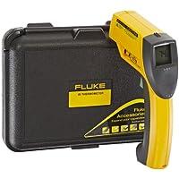Fluke 63 Handheld Infrared Thermometer, 9V Alkaline Battery, -25 to +999 Degree F Range