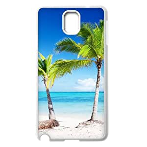 HXYHTY Customized Print Island Beach Hard Skin Case Compatible For Samsung Galaxy Note 3 N9000