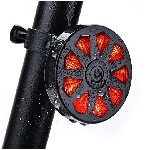 LERMX-Waterproof-LED-Bike-Tail-Light-Super-Bright-USB-Rechargeable-Powerful-Cycle-Rear-Flashlight-Fits-On-Any-Road-Mountain-Bicycle-Helmets-Easy-to-Install-for-Safety-Cycling