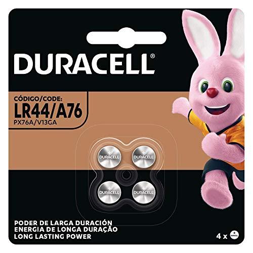 Pilha Duracell Moeda Lr44 / A76 c/ 4 Unidades