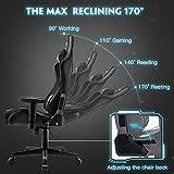Musso Ergonomic (Black) Gaming Chair Adjustable