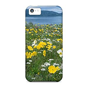 High Quality QLDopAq8394kVmNM Field Of Arctic Poppies Tpu Case For Iphone 5c