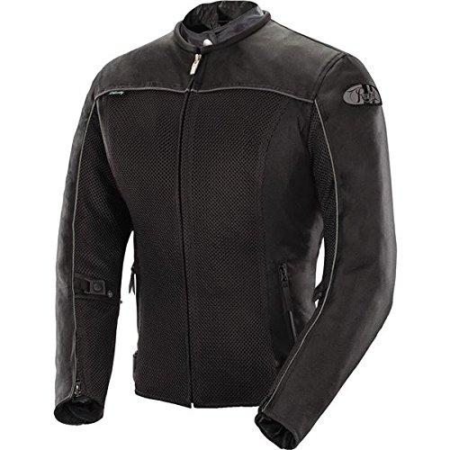 Joe Rocket Velocity Women's Mesh Motorcycle Jacket (Black, 2 Diva)