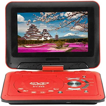ポータブルDVDプレーヤーのギフトは子供の研究高齢ドラマカーヘッドレストマウント旅行のための9.8InスイベルスクリーンCD / SDカードをサポート