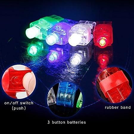 80ct AX-AY-ABHI-80034 Assorted Fun Central AR808 Finger Light Gloves Finger Lights