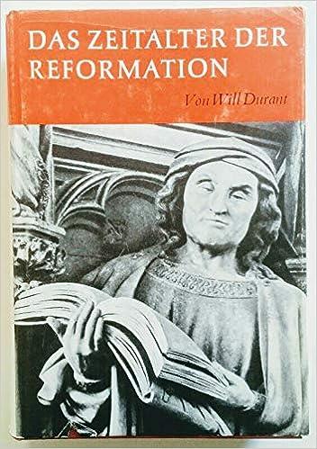 The Reformation: Will Durant: 9780671610500: Amazon com: Books