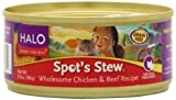 Halo Spot's Stew for Cats, Succulent Salmon Recipe, 3oz/12cans, My Pet Supplies