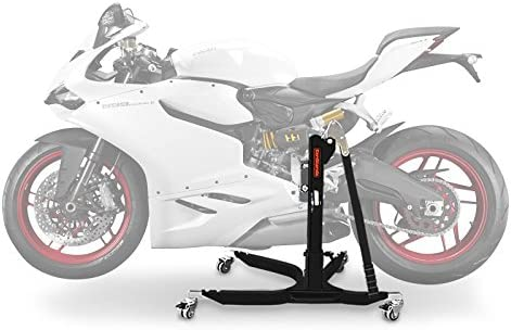 Caballete Central ConStands Power Ducati 959 Panigale 16-19 negro mate