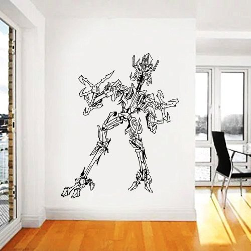 Transformers Wall Decal,Prime Wall Sticker,Bumblebee wall decal,Kids Wall sticker,Bedroom Wall Sticker,Nursery wall decal kau 267