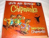 Let's All Sing Along With The Chipmunks by David Seville and the Chipmunks Record Album Vinyl LP