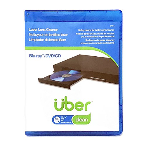 Laser Lens Cleaner Disc for CD DVD Blu Ray Players Gaming Consoles Laptop and Desktop ()