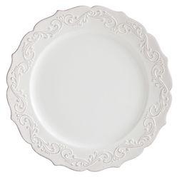 Antique Scroll Dinner Plate | Pier 1 Imports
