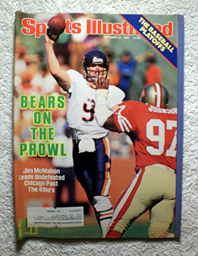 Jim McMahon - Chicago Bears - Sports Illustrated - October 21, 1985 - SI (Jim Mcmahon Chicago Bears compare prices)