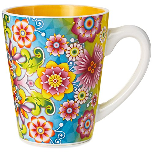 Catalina Estrada Flourishing Blooms Mug, 11 oz Mugs & Teacups - Catalina Coffee Mug