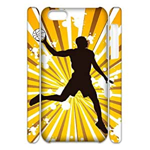 Winfors Basketball Phone 3D Case For Iphone 5C [Pattern-5]