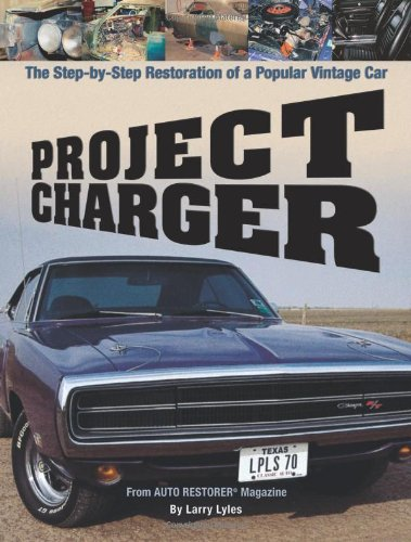 project charger the step by step restoration of a popular vintage car at virtual parking store. Black Bedroom Furniture Sets. Home Design Ideas