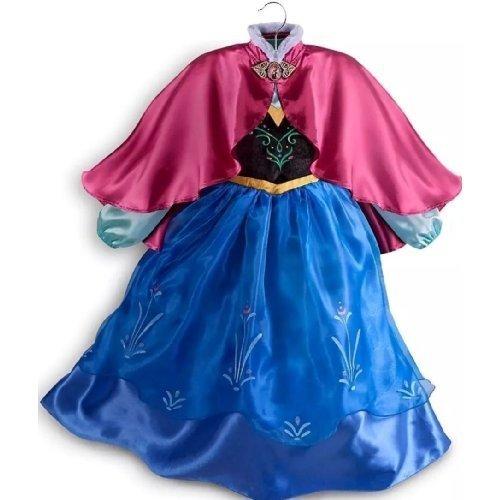 [Disney Store Frozen Princess Anna Dress Costume Size Medium 7/8] (Olaf Costumes 2017)