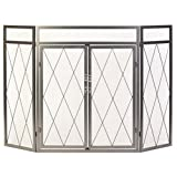 PANACEA PRODUCTS 15195 3 Panel Iron Goth Screen For Sale