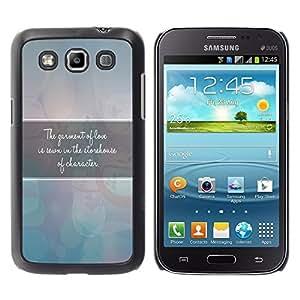 Paccase / SLIM PC / Aliminium Casa Carcasa Funda Case Cover para - BIBLE The Garment Of Love - Samsung Galaxy Win I8550 I8552 Grand Quattro