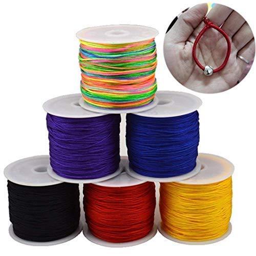 Buy satin thread jewelry making