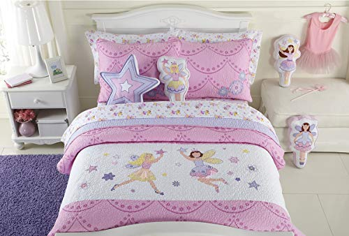 cute fairies quilt set