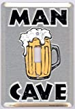 Man Cave Light Switch Plate