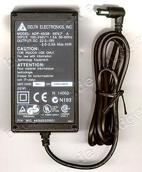 ORIGINAL NETZTEIL DELTA ADP-45GB REV.P C Output:22,5-18V 2,0-2,5A