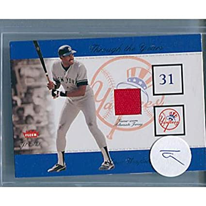 quality design 15fd1 a23f3 Dave Winfield Game Worn Alternate Jersey Card at Amazon's ...