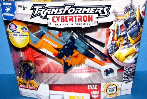 Transformers Cybertron **EVAC** Helicopter ~ Voyager Series
