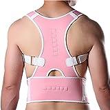 Hot Magnetic Posture Back Shoulder Corrector Support Brace Belt Therapy Adjustable