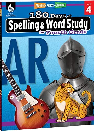 180 Days of Spelling and Word Study for Fourth Grade (Grade 4): Practice, Assess, Diagnose