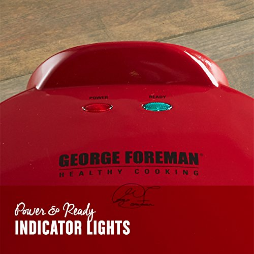 George Foreman Electric Quesadilla Maker, Red, GFQ001 by George Foreman (Image #2)