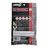 AMMEX Nitrile Disposable Gloves 6/pack, Heavy Duty, Disposable, 6 mil Thick, Uni-size, Black, Pack of 6