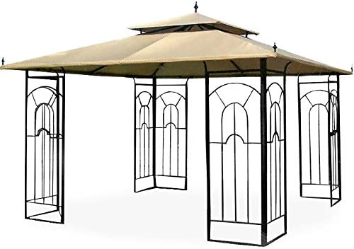 Garden Winds 12 x 12 Arrow Gazebo Replacement Canopy Top Cover