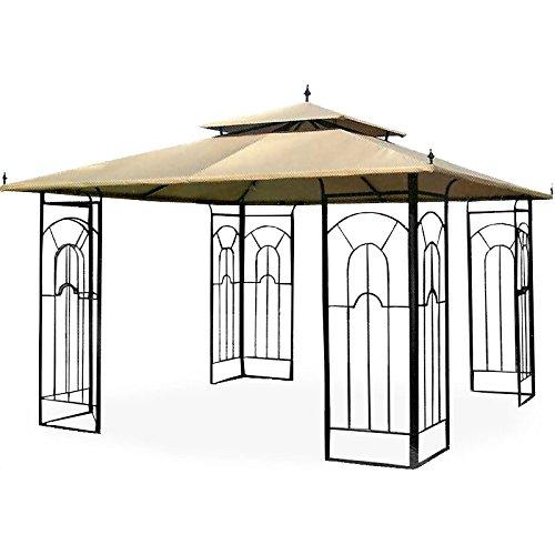 image is loading garden winds replacement canopy for costco arrow gazebo - Garden Winds Gazebo
