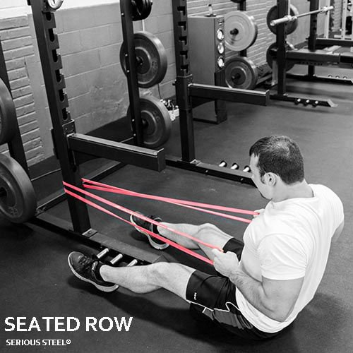 Serious Steel Fitness Starter Resistance Band & Crossfit Set, Assisted Pull-up Package#1, 2, 3 Band Set (5-80 Lbs) Free Pull-up and Band Starter e-Guide by Serious Steel Fitness (Image #8)