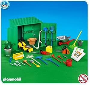 PLAYMOBIL 7490 - Cobertizo con herramientas