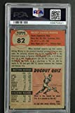 Mickey Mantle (d.1995) Autographed 1953 Topps #82
