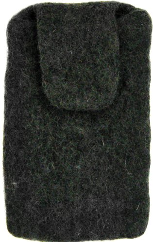 Dimensions Felt Cell Phone Sleeve, Black ()