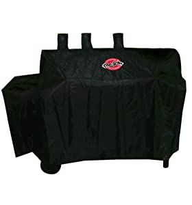 Char-Griller 5055 Grill Cover, Fits Dual Function 5030 2 Burner Gas-and-Charcoal Grill (Original Version)