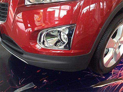 Vesul Chrome Front Fog Lamp Fog Light Cover Trim For Chevrolet Trax Tracker 2013 2014 2015 2016