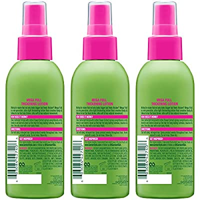 Garnier Fructis Style Sky-Hi Volume Mousse, All Hair Types, 6.4 oz. (Packaging May Vary)