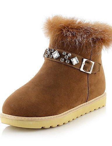 1485c80e25773 xzz de zapatos de mujer Botas Primavera Otoño Invierno plataforma botas de  nieve