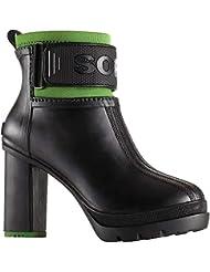 Sorel Womens Medina III Rubber Heel Booties