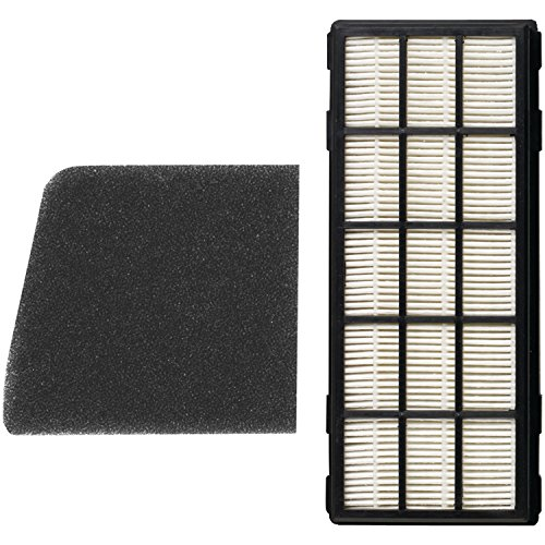 Filter Secondary Upright (Carpet Pro CPU12-F HEPA Secondary and Post Filter Set for CPU-2, 2T, 1, 1T)