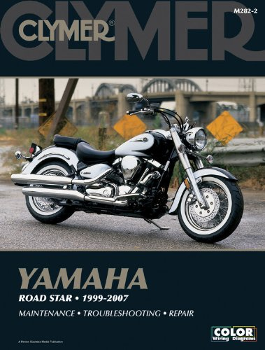 Yamaha Road Star 1999-2007 Manual does not cover XV1700P War (Clymer Color Wiring Diagrams)