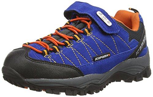 Icepeak WASI JR - zapatilla deportiva de cuero Niños^Niñas azul - Blau (BLUE 365)