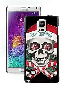 Popular Design Scary Christmas Black Samsung Galaxy Note 4 Case 1