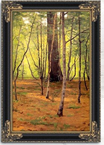 "Forest Glen by Charles Warren Eaton Framed Oil on Canvas Imitation - 22"" x 30""."